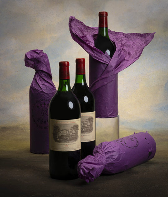 """Origins"" room auction Bordeaux Baghera/wines"