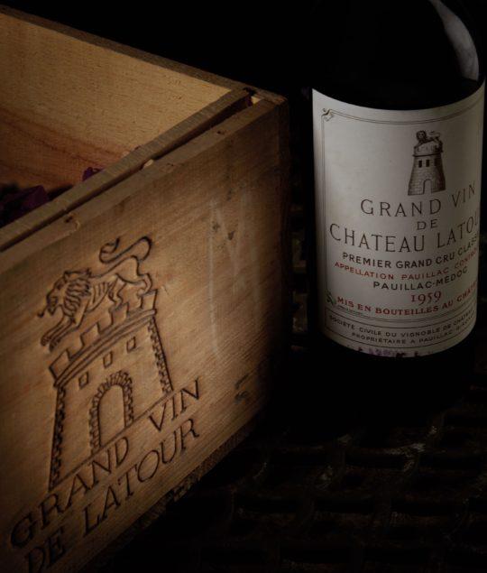 Château Latour 1959 Baghera/wines