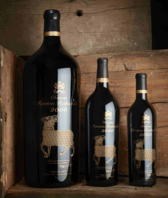Mouton Rothschild 2000, Baghera/wines