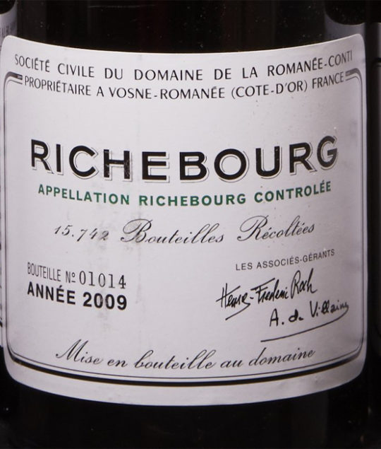 DRC Richebourg, Baghera/wines