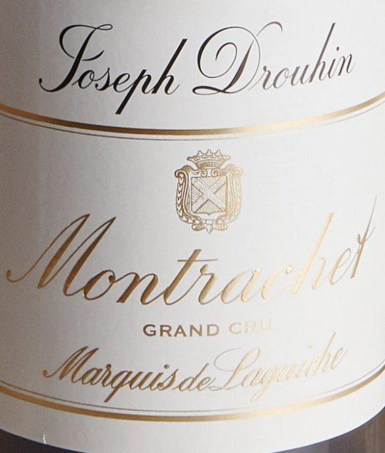Montrachet Marquis de Laguiche, Baghera/wines