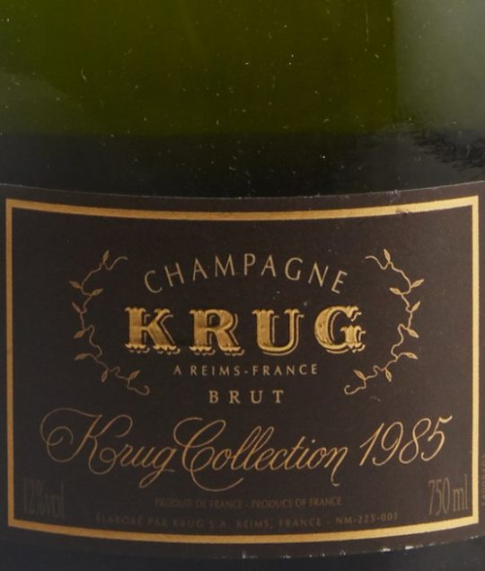 Krug Champagne, Baghera/wines