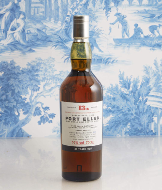 Port Ellen whisky, Baghera/wines