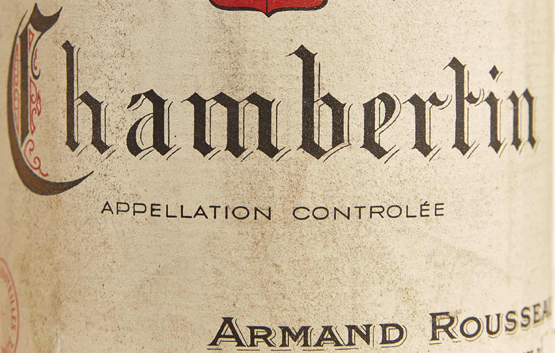 WOC around the clock – auctions at your fingertips - detail Chambertin Rousseau Baghera/wines
