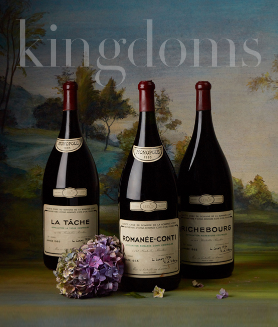 Kingdoms by Baghera/wines | Enoteca Pinchiorri collection of large formats