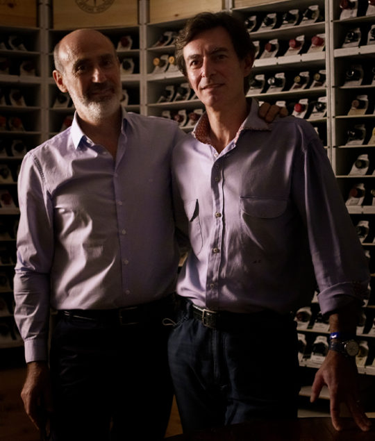 """Kingdoms"" In the Enoteca Pinchiorri's cellar with Alessandro Tomberli and Ivano Boso"