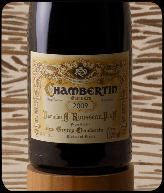 """""""Burgundy fields forever"""" auction –highlight on Domaine Armand Rousseau, by Bagherawines"""